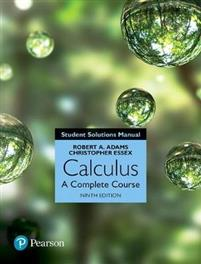 Calculus Student Solutions Manual